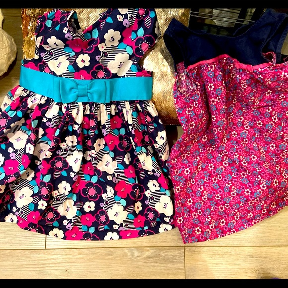 2 spring dresses from Gymboree